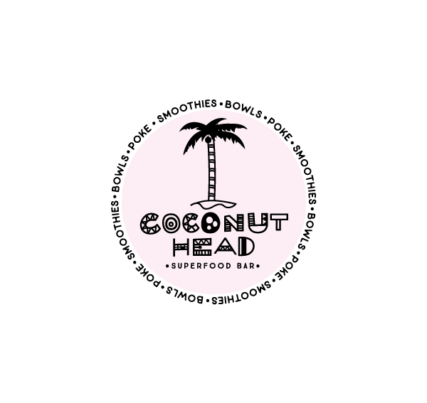 Coconut Head Logo